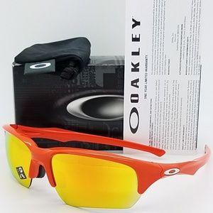 Oakley Sunglasses Blood Orange w/Fire Iridium Lens